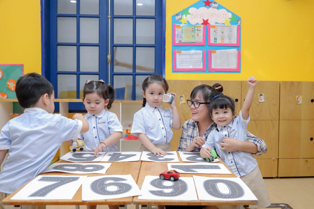 Lớp học tại Hooray